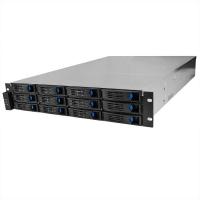 Серверный корпус 2U NR-R212-2 2x600Вт 12xHot Swap SAS/SATA (EATX 12x13, 650mm) черный, Negorack